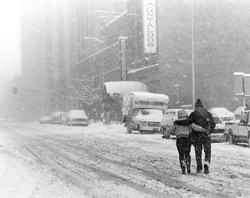 Blizzard of 1982. December 30, 1982. Denver Post File Photo